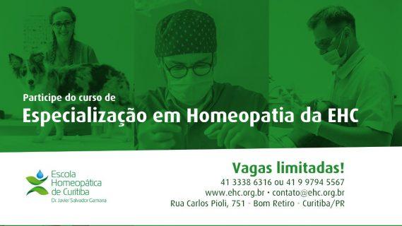 Curso de Especialização em Homeopatia